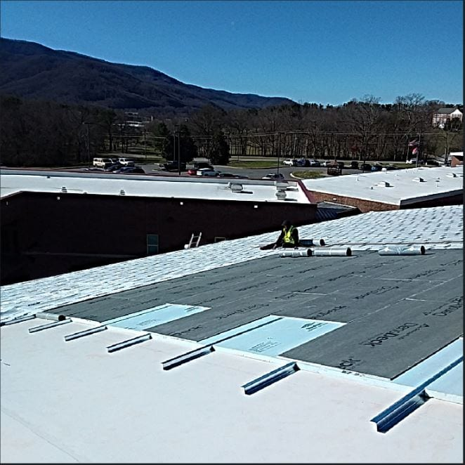WNC Roofing Commercial Metal Roof