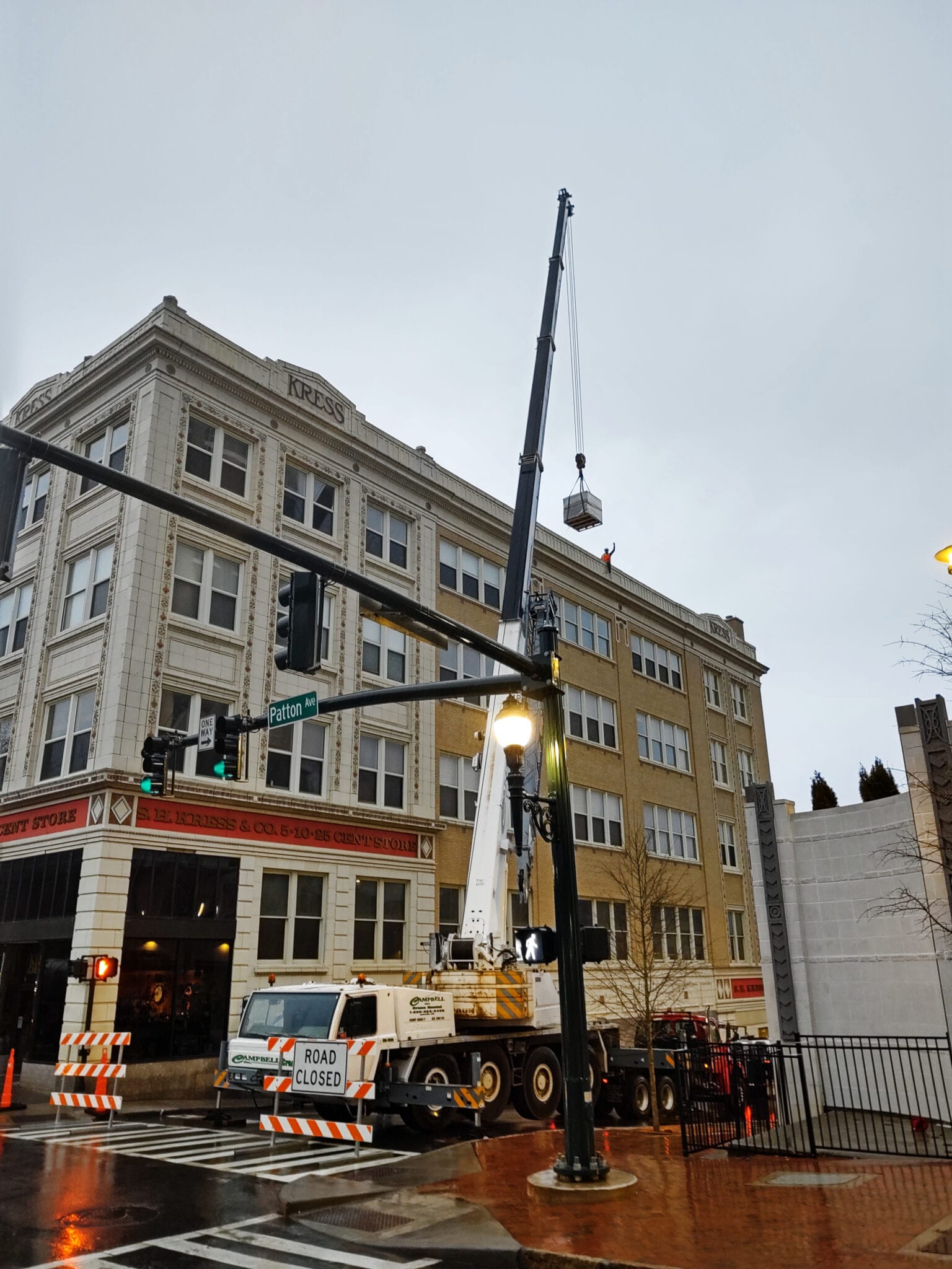 Kress Building Roof Replacement