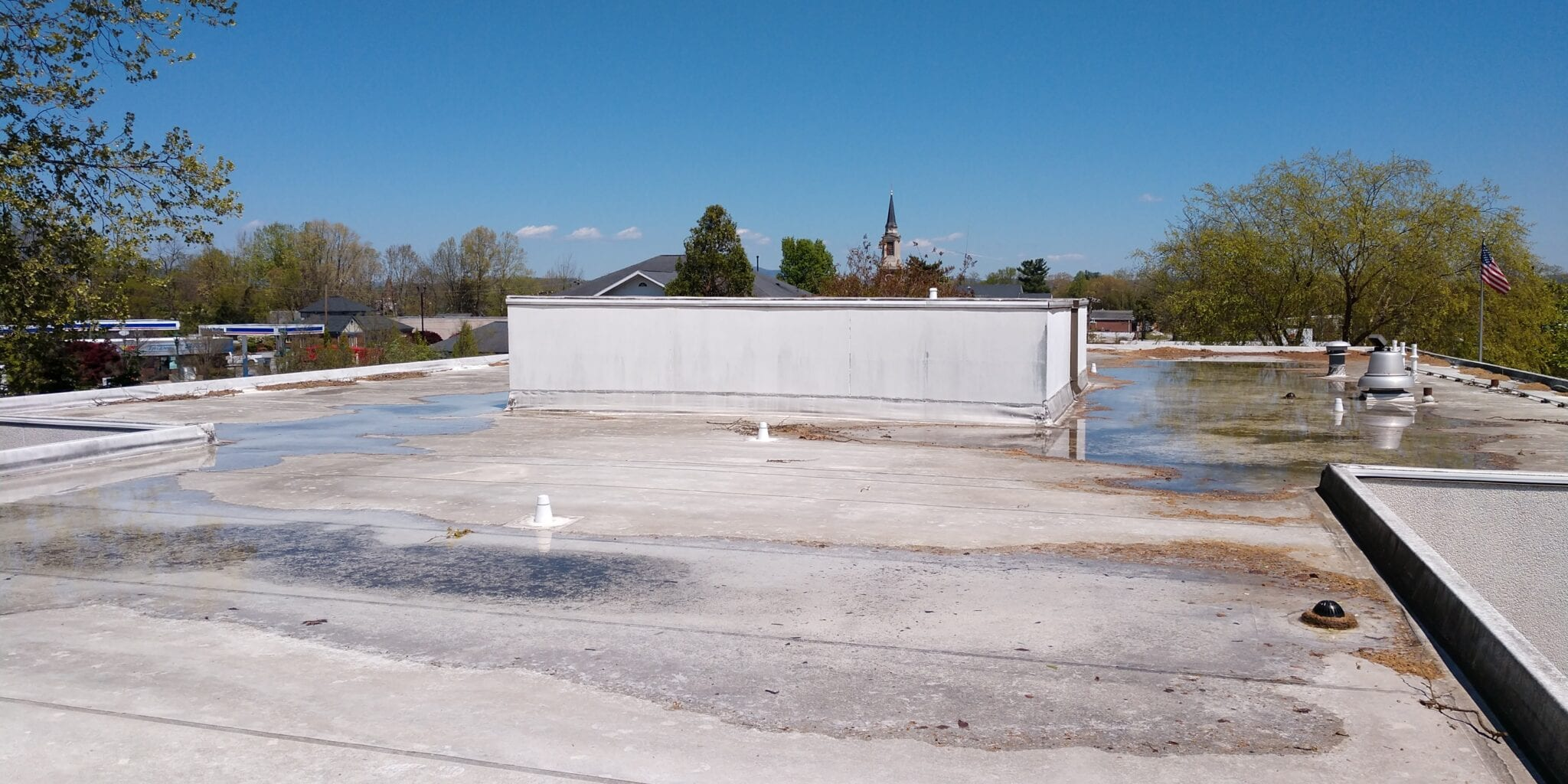 Top Five Causes of Commercial Roof Leaks