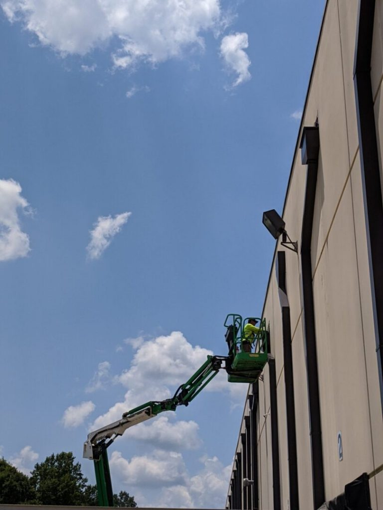 commercial roof scupper replacement
