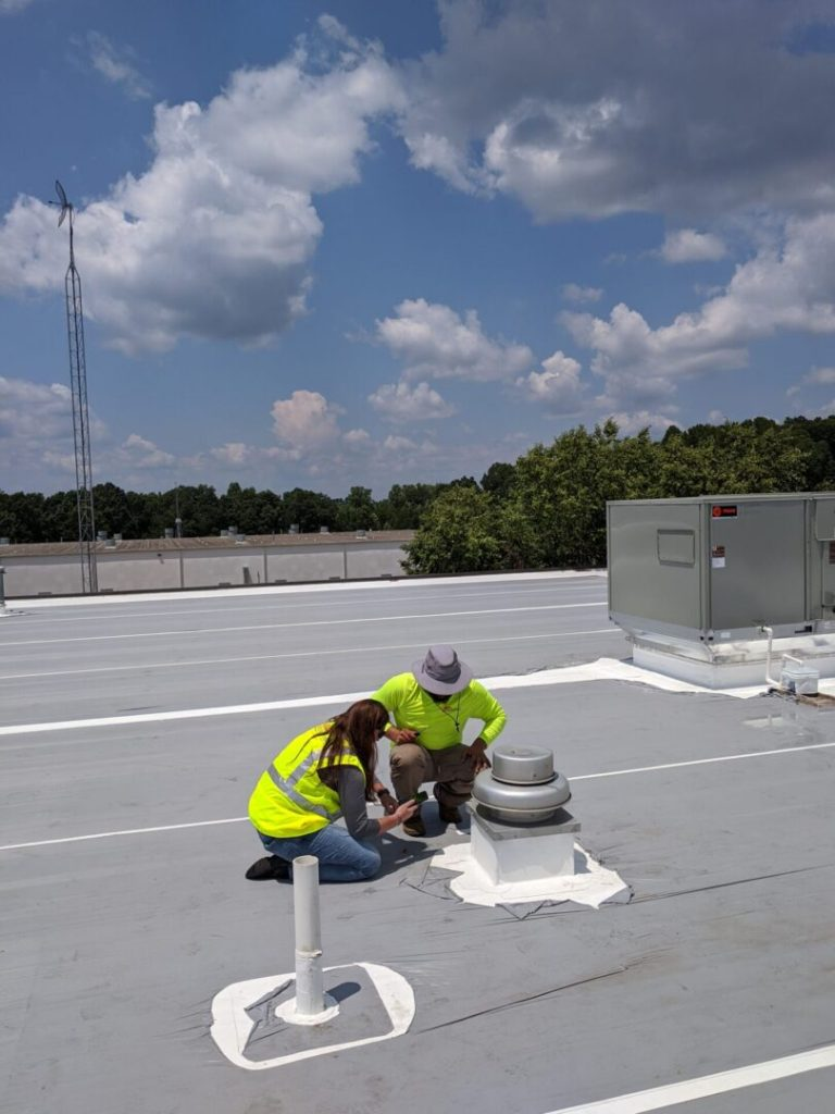 Commercial Roof Penetration Inspection