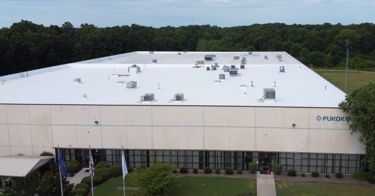 Fukoku America Commercial Roof Replacement