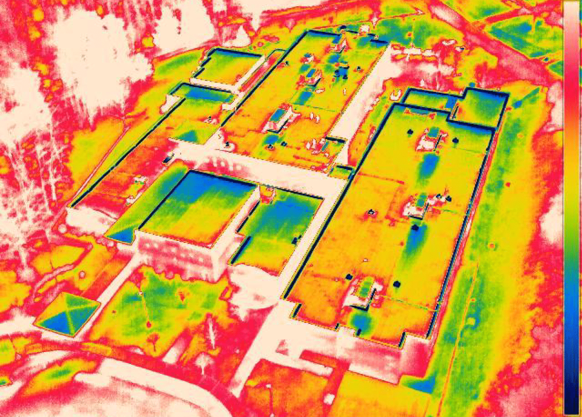 Thermal Moisture Scans for Commercial Roofs